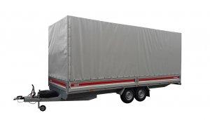 przyczepa ciężarowa z plandeką